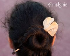 Hair Stick Ginkgo Leaf by ArtisIgnis DoubleSided by ArtisIgnis