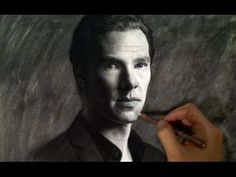 Drawing Benedict Cumberbatch - YouTube