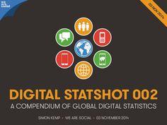 We Are Social's Digital Statshot 002 by We Are Social Singapore via slideshare