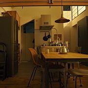 Overview,ダイニング,ロフト,ダイニングテーブル,勾配天井,IDEEに関連する他の写真