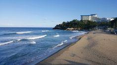 쏠비치가 보이는 증산해변
