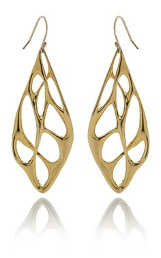 Alexis Bittar Liquid Gold Pave Interlaced Earrings