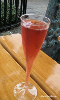 France - Sparkling Pomegranate Kir