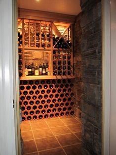 Small wine cellar (closet)