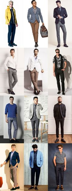 Wearing Winter Wardrobe In Spring with The Heavyweight Trouser Lookbook Inspiration