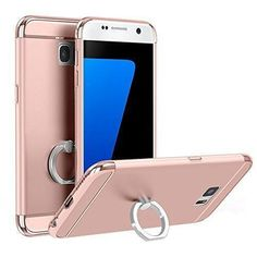 Samsung 360 Case With Attached Ring Holder For NOTE 5