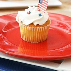 July 4th cupcakes and recipes