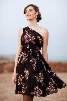 A classic Fall-inspired dress. #equestrian #ruche #shopruche