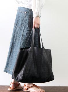 [Envelope Online Shop] Lather bag Lisette