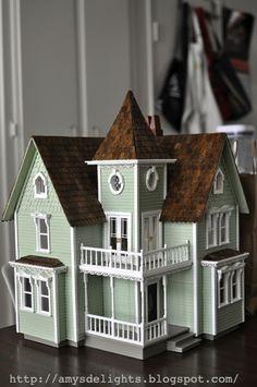 Half Scale Fairfield Dollhouse by craftersdelights.deviantart.com on @deviantART