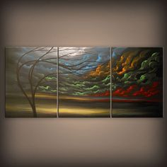 art abstract painting wall decor home decor wall by mattsart