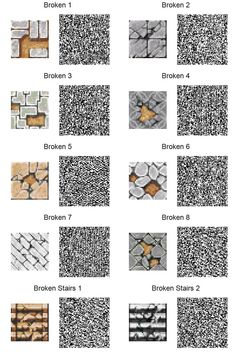 ACNL QR Code: Broken Tiles (If too small, use download link at right of the page for full resolution.)