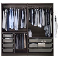 PAX Wardrobe - 200x58x201 cm - IKEA