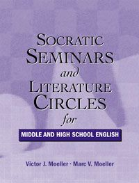 Socratic Seminars and Literature Circles for Middle and High School English. Middle School Reading, Middle School English, Teaching Literature, Teaching Reading, Learning, Middle School Classroom, English Classroom, Team Building, Teaching Secondary