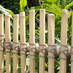 bamboo fence - no instructions