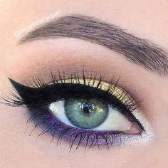 #Makeup #Blue #Eyes #Maquillage #Bleu #Yeux #Soirée #Journée #Night #Day: