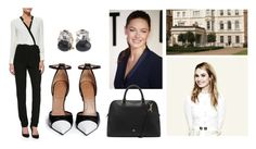 """Midge -- Meeting the Soon-to-Be Princess of Wales"" by the-princess-of-wales ❤ liked on Polyvore featuring Givenchy, Christina Addison, Twelfth Street by Cynthia Vincent and Mulberry"