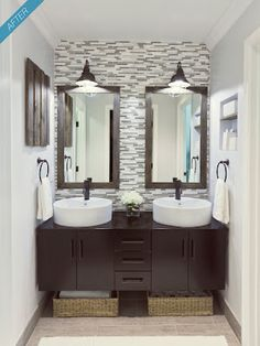 double sink, small space
