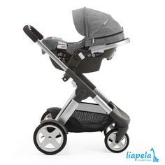 "Stokke PIPA by Nuna with Crusi Chassis -- Did somebody say ""Gorgeous?"" Like on Instagram @LiapelaModernBaby"