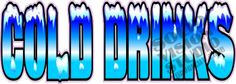 "14"" Cold Drinks Soda Pop Concession Trailer Vinyl Decal"