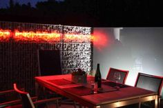 restaurante con gaviones, estudios arquitectura gaviones