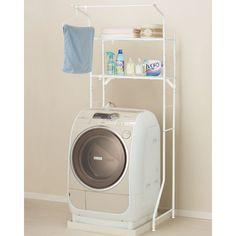 洗濯機ラック(6797WH)
