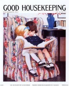 オールポスターズの ジェシー・ウィルコックス・スミス「Good Housekeeping, November 1921」ポスター