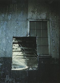 'Pier In / Out', a building cut in 1972 (photographed in 1973), by Gordon Matta-Clark