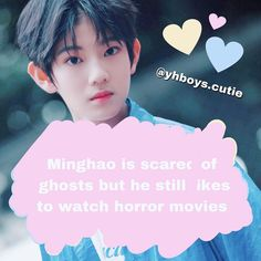 - Ive got this idea from and this fact from a interview - Videos Funny, Horror Movies, Boy Groups, Entertaining, Cute, Movie Posters, Yolo, Interview, Asia