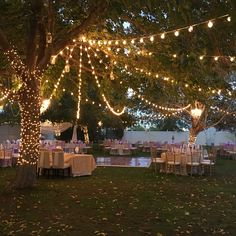 Dekoration Hochzeit Gorgeous Nighttime Wedding Reception At The