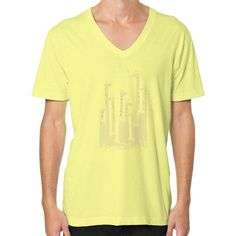 Giraffe Double Vision V-Neck (on man) Shirt