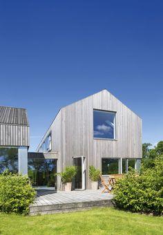jan henrik jansen arkitekt / hus lavet af cedertræ, odder