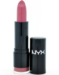 Nyx Round Lipstick in 623 Heather is a must try lipstick. Perfect Mauvey Plum shade. #lip #makeup #lipstick
