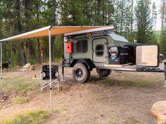 Small Rv Campers, Small Camper Trailers, Cargo Trailer Camper, Camper Trailer For Sale, Trailer Tires, Small Trailer, Rv Trailers, Trailers For Sale, Camping Trailer Diy