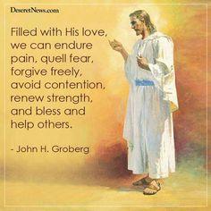We can endure