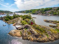 Go Off-The-Grid for Your Next Vacation on This Tiny Private Island in Norway   Stargazing, kayaking, and doing absolutely nothing are on the itinerary at this cozy cabin rental on Norway's sunniest island.