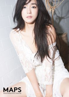 More of SNSD's lovely Tiffany for MAPS magazine ~ Wonderful Generation