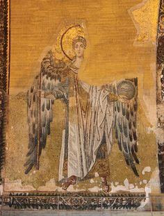 Istanbul: Hagia Sophia (Archangel Gabriel)