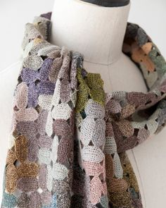 *Sophie Digard 2012AW COLOUR CAPS MERINO WOOL SCARF アクセサリー ウールスカーフ (カラー:EG) ONE - LILI et NENE Official