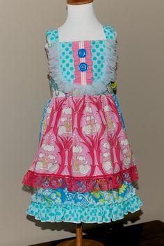 Amberly Dress (sizes 18m,2T,3T,4T & 6). $58.00, via Etsy.