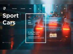 Concept Porsche designed by Vladyslav. Ui Ux Design, Page Design, Branding Design, Design Agency, Web Design Mobile, Ui Web, Catalog Design, Porsche Design, Web Layout