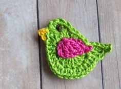 Crochet Applique Patterns - Free