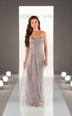 8684 Sequin Bridesmaid Dress by Sorella Vita. OMGOSH! This ONE! @jksteadman @mrwitt85 @mwertheimer @daretodefine @HeatherAyla87