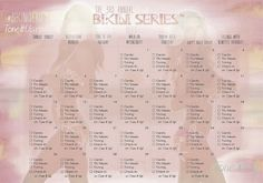 It's HERE! Your May BIKINI SERIES™ Calendar!! With BIKINI SERIES™ in FULL SWING we're mixing it up to help you stay accountable with special check boxes for each day!! Use this along with your Weekly Schedule posted every Sunday. www.toneitup.com