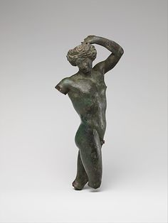 Bronze statuette of a youth dancing Hellenistic period - late 4th century BC Bronze Metropolitan Museum