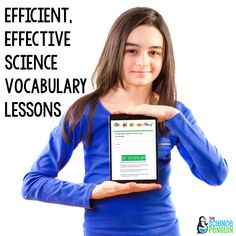 3 EASY Ideas to Teach Science Vocabulary with Technology — The Science Penguin 7th Grade Science, Elementary Science, Teaching Science, Science Penguin, Simple App, Vocabulary Activities, Real Life, Teacher, Technology