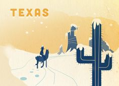 Winter Driving Across the United States: Texas – see where to use extra caution on the road here: |onstarconnections.com| #onstar #winterdriving #tips #Texas