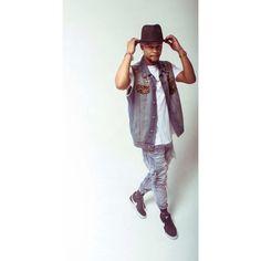 #swag #dope #street #fashion #trill #style #photography #photoshoot #shades #hat #hipster #goldchain  #sleevelessdenim