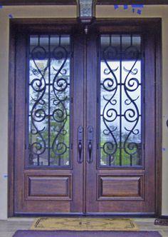 Luxury Wrought Iron Entry Door Locks