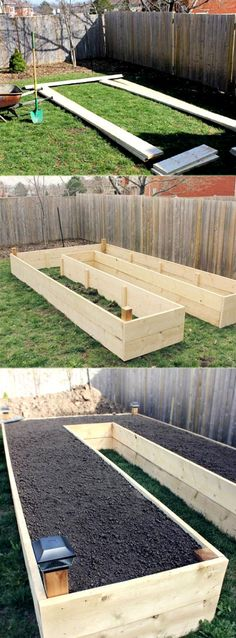 U Shaped Garden Bed How to Build a Raised Vegetable Garden Bed 39 Simple Cheap Raised Vegetable Garden Bed Ideas Vegetable Bed, Backyard Vegetable Gardens, Vegetable Garden Design, Backyard Garden Design, Backyard Landscaping, Vegetables Garden, Veg Garden, Fruit Garden, Landscaping Ideas
